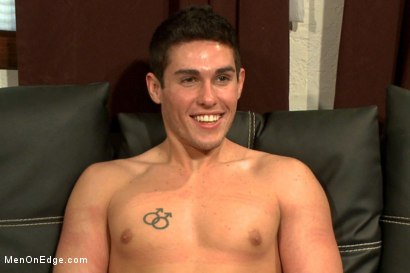 Photo number 15 from Two edging perverts take down a sexy stud with a fat cock shot for Men On Edge on Kink.com. Featuring Jett Jax in hardcore BDSM & Fetish porn.