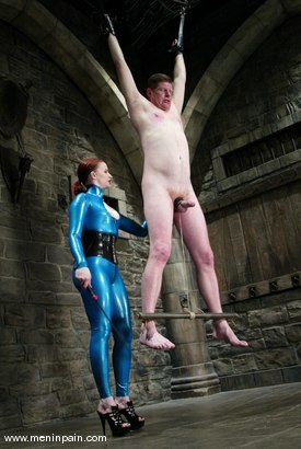 Photo number 1 from Sterling Ward and Claire Adams shot for Men In Pain on Kink.com. Featuring Sterling Ward and Claire Adams in hardcore BDSM & Fetish porn.