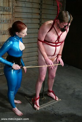 Photo number 14 from Sterling Ward and Claire Adams shot for Men In Pain on Kink.com. Featuring Sterling Ward and Claire Adams in hardcore BDSM & Fetish porn.