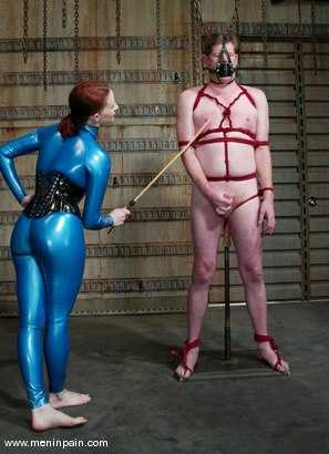 Photo number 9 from Sterling Ward and Claire Adams shot for Men In Pain on Kink.com. Featuring Sterling Ward and Claire Adams in hardcore BDSM & Fetish porn.