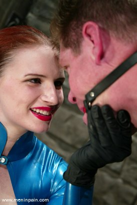 Photo number 5 from Sterling Ward and Claire Adams shot for Men In Pain on Kink.com. Featuring Sterling Ward and Claire Adams in hardcore BDSM & Fetish porn.