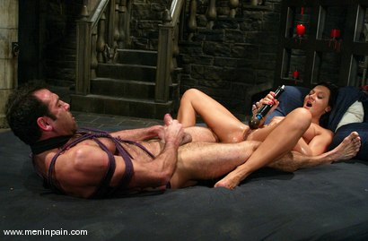 Photo number 13 from Sandra Romain and totaleurosex shot for Men In Pain on Kink.com. Featuring Sandra Romain and totaleurosex in hardcore BDSM & Fetish porn.