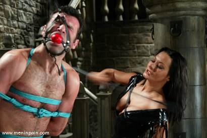 Photo number 3 from Sandra Romain and totaleurosex shot for Men In Pain on Kink.com. Featuring Sandra Romain and totaleurosex in hardcore BDSM & Fetish porn.