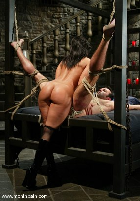Photo number 4 from Sandra Romain and totaleurosex shot for Men In Pain on Kink.com. Featuring Sandra Romain and totaleurosex in hardcore BDSM & Fetish porn.