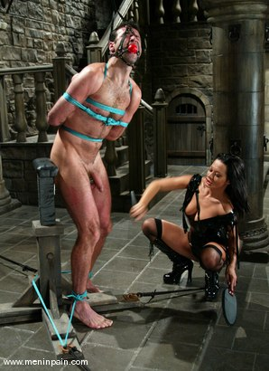 Photo number 2 from Sandra Romain and totaleurosex shot for Men In Pain on Kink.com. Featuring Sandra Romain and totaleurosex in hardcore BDSM & Fetish porn.