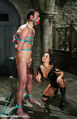 Photo number 1 from Sandra Romain and totaleurosex shot for Men In Pain on Kink.com. Featuring Sandra Romain and totaleurosex in hardcore BDSM & Fetish porn.