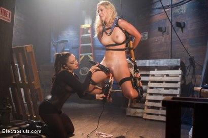 Photo number 6 from MILF Interrogation shot for Electro Sluts on Kink.com. Featuring Cherie Deville and Lea Lexis in hardcore BDSM & Fetish porn.