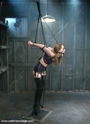 Photo number 1 from Charlotte Brooke shot for Water Bondage on Kink.com. Featuring Charlotte Brooke in hardcore BDSM & Fetish porn.