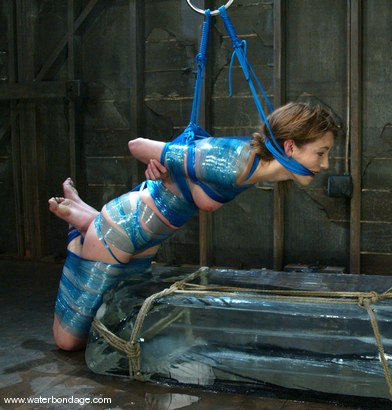 Photo number 5 from Charlotte Brooke shot for Water Bondage on Kink.com. Featuring Charlotte Brooke in hardcore BDSM & Fetish porn.