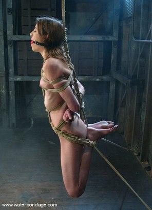 Photo number 9 from Charlotte Brooke shot for Water Bondage on Kink.com. Featuring Charlotte Brooke in hardcore BDSM & Fetish porn.