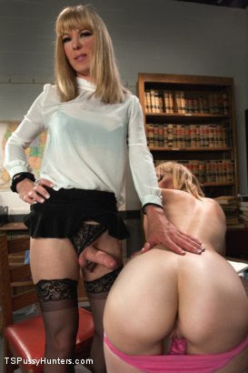 Photo number 1 from What's Russian for Suck my Cock? First Time Girl Fucked By TS Teacher shot for TS Pussy Hunters on Kink.com. Featuring Franchezka and Mona Wales in hardcore BDSM & Fetish porn.