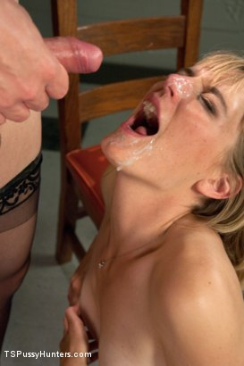 Photo number 14 from What's Russian for Suck my Cock? First Time Girl Fucked By TS Teacher shot for TS Pussy Hunters on Kink.com. Featuring Franchezka and Mona Wales in hardcore BDSM & Fetish porn.