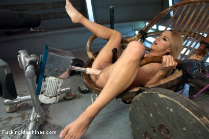 Photo number 4 from When You're this Little, They call you, Ms. Little shot for Fucking Machines on Kink.com. Featuring Luna Light in hardcore BDSM & Fetish porn.