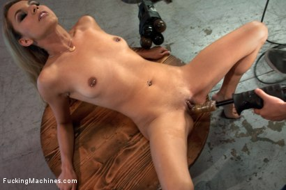 Photo number 5 from When You're this Little, They call you, Ms. Little shot for Fucking Machines on Kink.com. Featuring Luna Light in hardcore BDSM & Fetish porn.