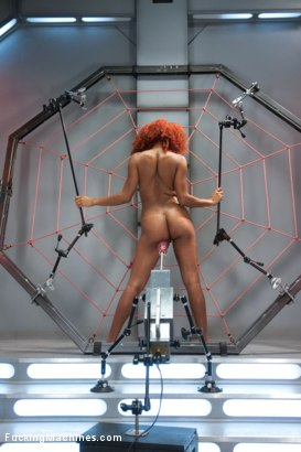 Photo number 10 from Spider Web of Machines, Tit Suction Breath Play Nipple Clamps & Big Os shot for Fucking Machines on Kink.com. Featuring Daisy Ducati in hardcore BDSM & Fetish porn.