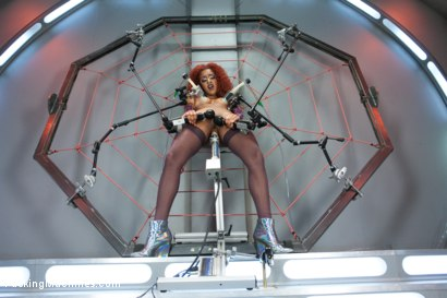 Spider Web of Machines, Tit Suction Breath Play Nipple Clamps & Big Os