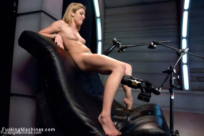Photo number 12 from Fucking a Stunner.  shot for Fucking Machines on Kink.com. Featuring Dahlia Sky in hardcore BDSM & Fetish porn.