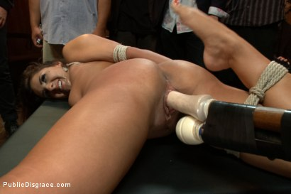 Photo number 14 from Adorable little flirt gets fucked in public! shot for Public Disgrace on Kink.com. Featuring Evi Fox and Danny Wylde in hardcore BDSM & Fetish porn.