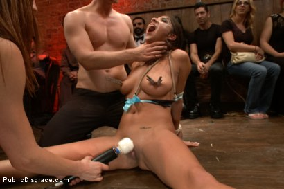 Photo number 4 from Adorable little flirt gets fucked in public! shot for Public Disgrace on Kink.com. Featuring Evi Fox and Danny Wylde in hardcore BDSM & Fetish porn.