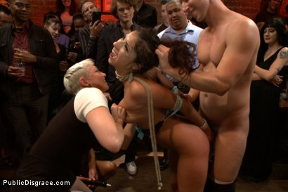Photo number 6 from Adorable little flirt gets fucked in public! shot for Public Disgrace on Kink.com. Featuring Evi Fox and Danny Wylde in hardcore BDSM & Fetish porn.