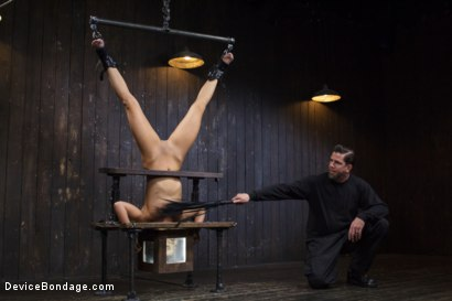 Photo number 13 from Adriana Chechik - Violated and Abused shot for Device Bondage on Kink.com. Featuring Adriana Chechik in hardcore BDSM & Fetish porn.
