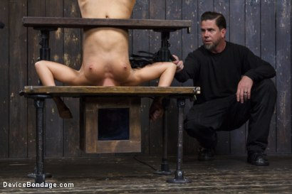 Photo number 14 from Adriana Chechik - Violated and Abused shot for Device Bondage on Kink.com. Featuring Adriana Chechik in hardcore BDSM & Fetish porn.