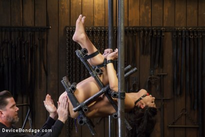 Photo number 4 from Adriana Chechik - Violated and Abused shot for Device Bondage on Kink.com. Featuring Adriana Chechik in hardcore BDSM & Fetish porn.