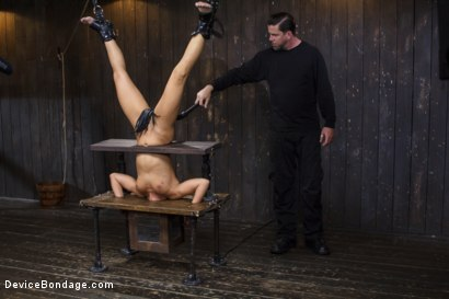 Photo number 8 from Adriana Chechik - Violated and Abused shot for Device Bondage on Kink.com. Featuring Adriana Chechik in hardcore BDSM & Fetish porn.