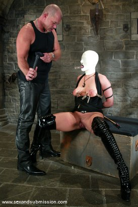 Photo number 3 from Mark Davis and Venus shot for Sex And Submission on Kink.com. Featuring Venus and Mark Davis in hardcore BDSM & Fetish porn.
