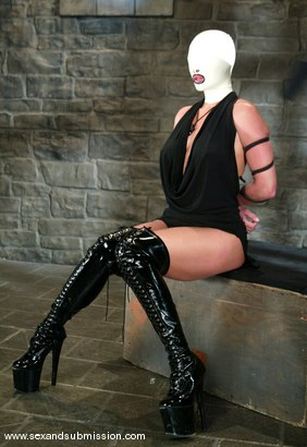 Photo number 1 from Mark Davis and Venus shot for Sex And Submission on Kink.com. Featuring Venus and Mark Davis in hardcore BDSM & Fetish porn.