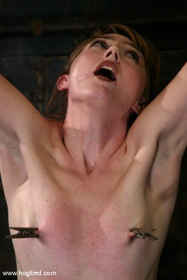 Photo number 5 from Kendra James shot for Hogtied on Kink.com. Featuring Kendra James in hardcore BDSM & Fetish porn.