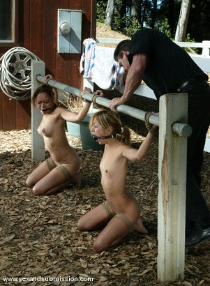 Photo number 1 from Kat, Annie Cruz and Lee Stone shot for Sex And Submission on Kink.com. Featuring Lee Stone, Kat and Annie Cruz in hardcore BDSM & Fetish porn.