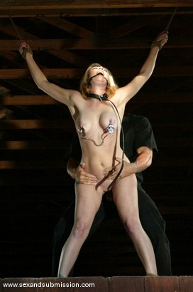 Photo number 9 from Adrianna Nicole and Lee Stone shot for Sex And Submission on Kink.com. Featuring Adrianna Nicole and Lee Stone in hardcore BDSM & Fetish porn.