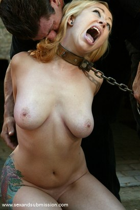 Photo number 3 from Adrianna Nicole and Lee Stone shot for Sex And Submission on Kink.com. Featuring Adrianna Nicole and Lee Stone in hardcore BDSM & Fetish porn.