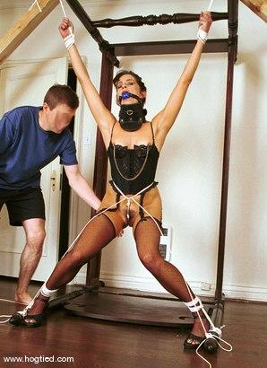 Photo number 6 from Karina Ballerina (Angel) shot for Hogtied on Kink.com. Featuring Karina Ballerina (Angel) in hardcore BDSM & Fetish porn.