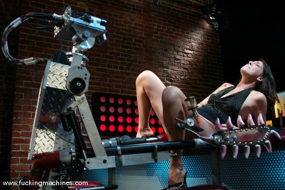 Photo number 4 from Lexi Bardot shot for Fucking Machines on Kink.com. Featuring Lexi Bardot in hardcore BDSM & Fetish porn.