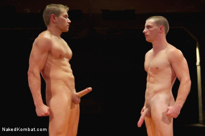 Photo number 15 from Naked Kombat's Summer Smackdown Tournament - Final Elimination Match! shot for Naked Kombat on Kink.com. Featuring Alex Adams and Doug Acre in hardcore BDSM & Fetish porn.