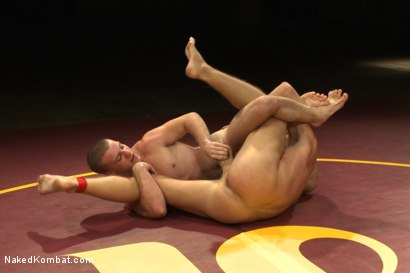 Photo number 10 from Naked Kombat's Summer Smackdown Tournament - Final Elimination Match! shot for Naked Kombat on Kink.com. Featuring Alex Adams and Doug Acre in hardcore BDSM & Fetish porn.