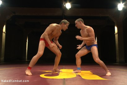 Photo number 1 from Naked Kombat's Summer Smackdown Tournament - Final Elimination Match! shot for Naked Kombat on Kink.com. Featuring Alex Adams and Doug Acre in hardcore BDSM & Fetish porn.