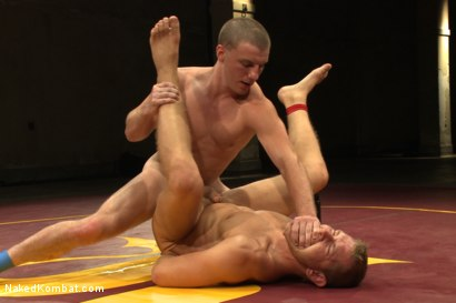 Photo number 12 from Naked Kombat's Summer Smackdown Tournament - Final Elimination Match! shot for Naked Kombat on Kink.com. Featuring Alex Adams and Doug Acre in hardcore BDSM & Fetish porn.