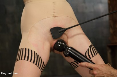 Photo number 10 from Anal Slut Gets Cold Steel Anal Invasion shot for Hogtied on Kink.com. Featuring Penny Pax in hardcore BDSM & Fetish porn.