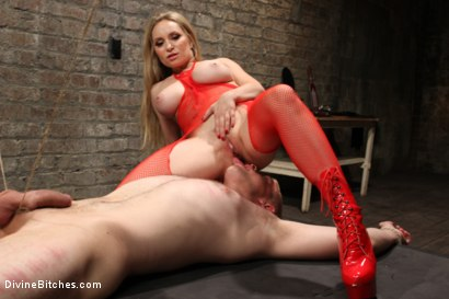 Photo number 15 from Submitting To A Goddess shot for Divine Bitches on Kink.com. Featuring Aiden Starr and Cliff Adams in hardcore BDSM & Fetish porn.