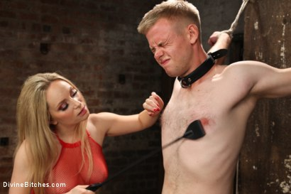 Photo number 3 from Submitting To A Goddess shot for Divine Bitches on Kink.com. Featuring Aiden Starr and Cliff Adams in hardcore BDSM & Fetish porn.