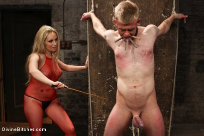 Photo number 11 from Submitting To A Goddess shot for Divine Bitches on Kink.com. Featuring Aiden Starr and Cliff Adams in hardcore BDSM & Fetish porn.