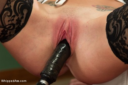 Photo number 8 from Trust Fund Brat BOUND, DP'd and FACE FUCKED by Hot Maids shot for Whipped Ass on Kink.com. Featuring Chanel Preston, Penny Pax and Felony in hardcore BDSM & Fetish porn.