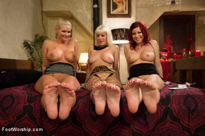 Photo number 14 from XXX Red Light District Foot Worship XXX shot for Foot Worship on Kink.com. Featuring Phoenix Marie, Sarah Blake and Cherry Torn in hardcore BDSM & Fetish porn.