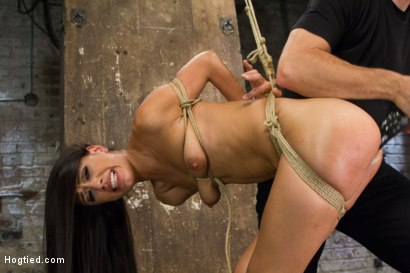 Photo number 9 from Exotic Rope Slut Shows Off  Her Gushing Cunt shot for Hogtied on Kink.com. Featuring Lyla Storm in hardcore BDSM & Fetish porn.