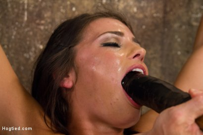 Photo number 14 from Fresh Young Pretty Girl Destroyed by Bondage and Orgasms shot for Hogtied on Kink.com. Featuring Adriana Chechik in hardcore BDSM & Fetish porn.