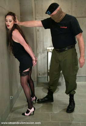 Photo number 2 from Sgt. Major and Maya Matthews shot for Sex And Submission on Kink.com. Featuring Sgt. Major and Maya Matthews in hardcore BDSM & Fetish porn.