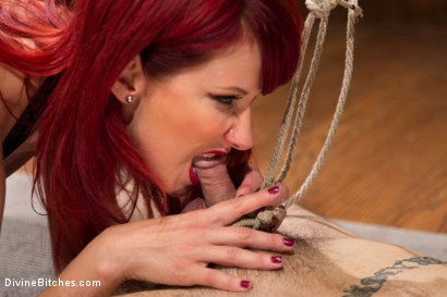 Photo number 2 from Happy Birthday Maitresse!!: Prostate Virgin maleXslave!!! shot for Divine Bitches on Kink.com. Featuring Maitresse Madeline Marlowe  and Ruckus in hardcore BDSM & Fetish porn.
